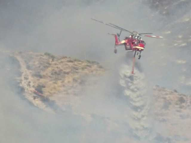 UPDATE: Body found in evacuation area of Sand Fire; blaze 20% contained