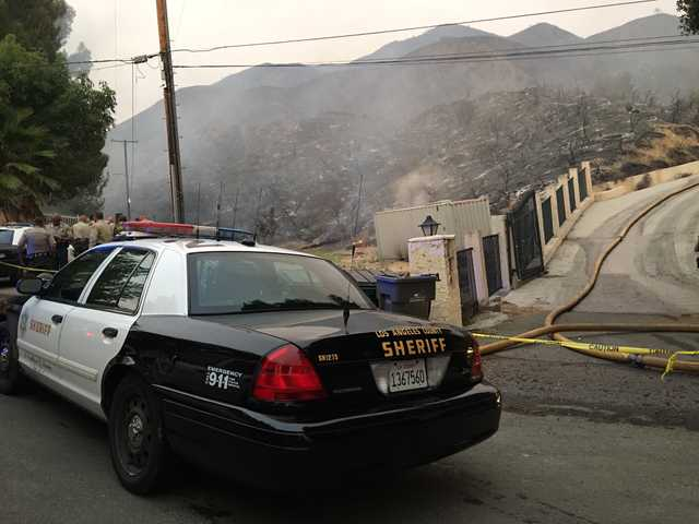 UPDATE: Body found in evacuation area of Sand Fire; blaze 10% contained