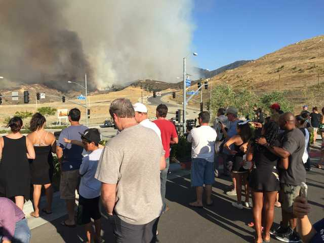 UPDATE: Sand fire 25 percent contained, evacuees returning home