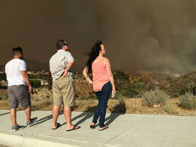 UPDATE: Assessment teams search for more homes damaged by Sand Fire:Estimated 10,000 homes evacuated