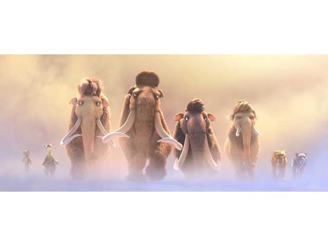 Tired, lackluster 'Ice Age' 5 would be better off frozen