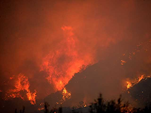 UPDATE: Federal funding approved for fighting Sand fire