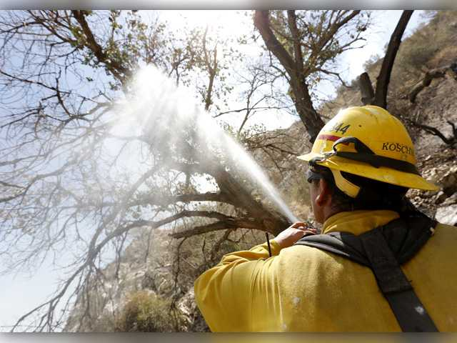 Sand fire cause under investigation