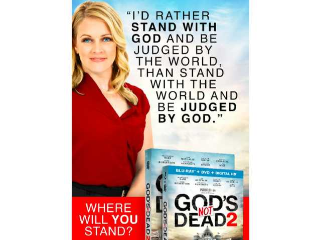 Is this 'God's Not Dead 2' billboard that was reportedly rejected really 'too incendiary' and 'too p