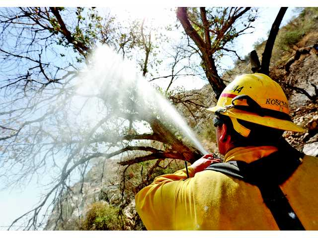 Sand fire 85 percent contained