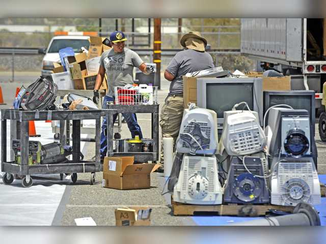 More than 50,000 pounds collected at hazardous waste event