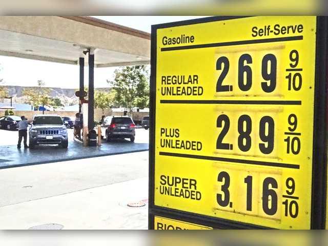 Gas prices lancaster ca