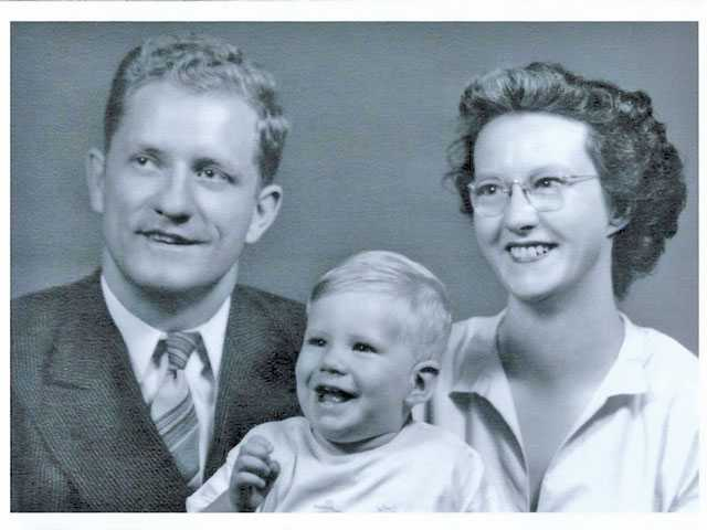 Gordon Rogers, son Walter and Joyce Rogers, circa 1950. Courtesy photo.