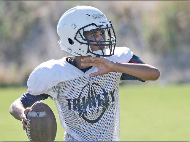 2016 football training camp series: Trinity