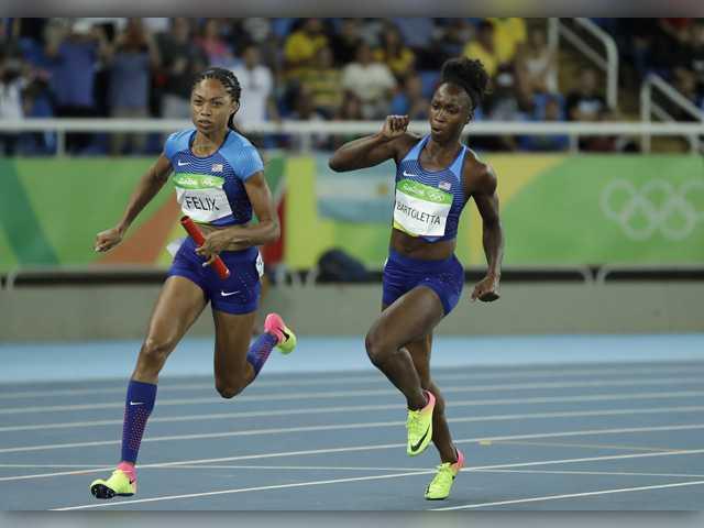 SCV resident Allyson Felix gets relay rerun in 4x100