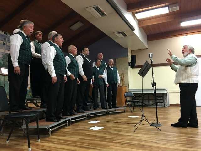Local a capella group a hit at SCV Senior Center