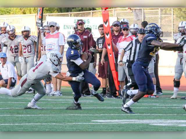 COC football starts slow, finishes strong in opener