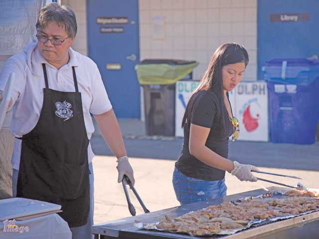OLPH prepping for visitors to annual BBQ event