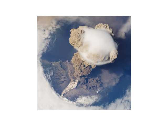 Have You Seen This? Volcano from space
