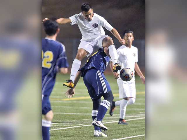 COC men's soccer earns 1st win