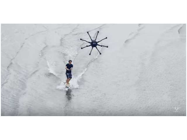 Have You Seen This? Drone surfing