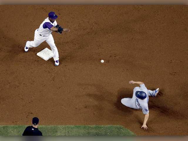 Haniger homers as Diamondbacks beat Hill, Dodgers
