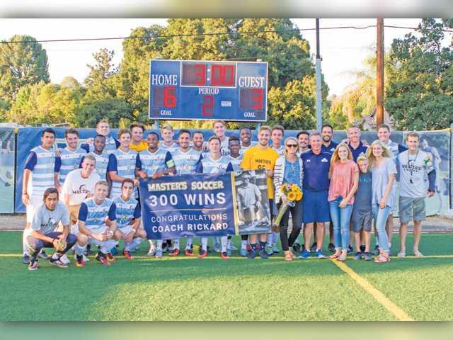 TMU soccer coach wins 300th game