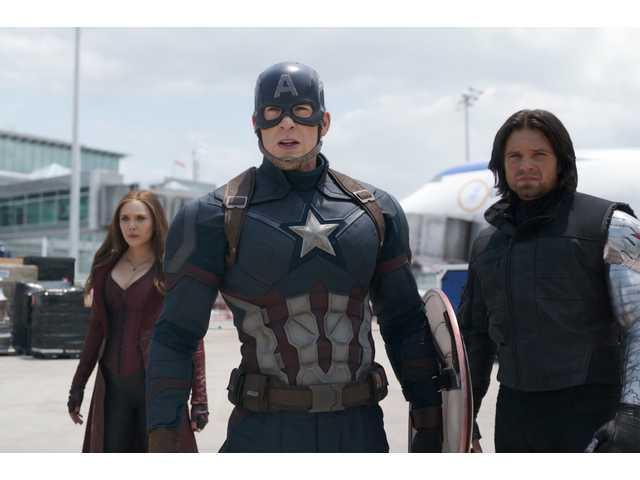 'Captain America: Civil War' on Blu-ray, DVD this week