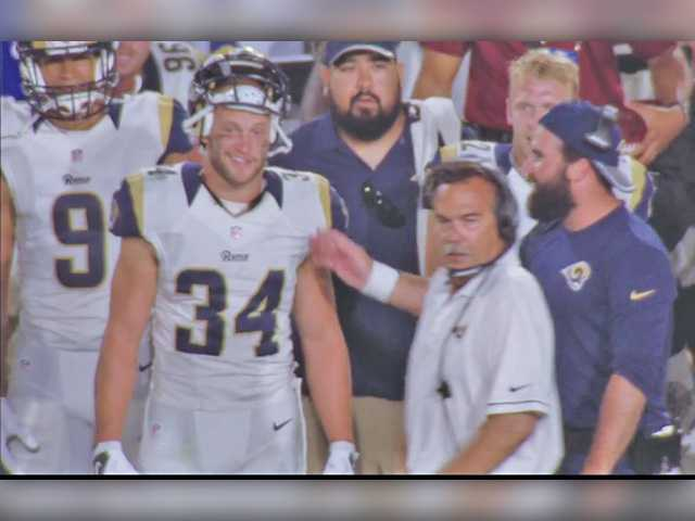 COC product completes dream internship with LA Rams
