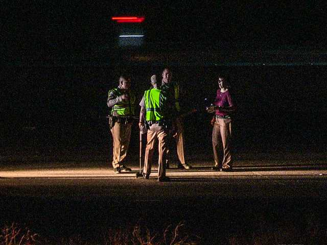 UPDATE: Motorcyclist killed after hitting patch of spilled
