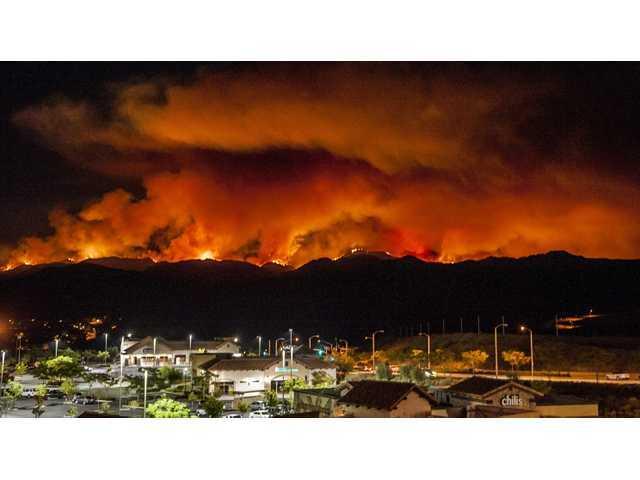Area firefighters brace for Santa Anas