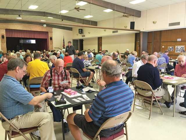Participants at the September Sectional Bridge Tournament held in Friendly Valley on the weekend of September 17 & 18. Courtesy photo