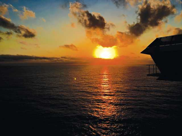 Tuesday morning dawn from the balcony off the coast of Puerto Vallarta, Mexico. Photo by John Ragsdale.