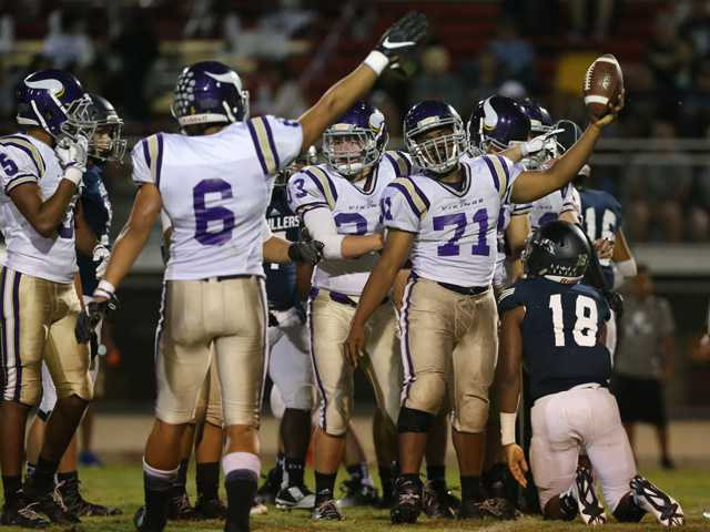 Valencia football routs Bakersfield on the road