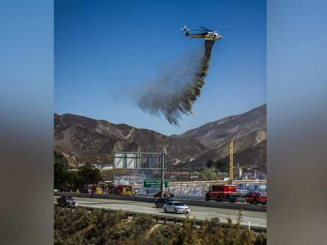 One acre brush fire contained in Canyon Country