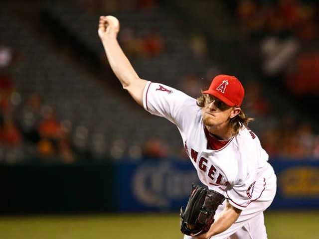 Jered Weaver contemplates future after Angels beat A's