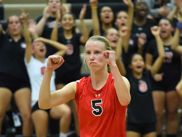 Hart v-ball takes down GV in four games