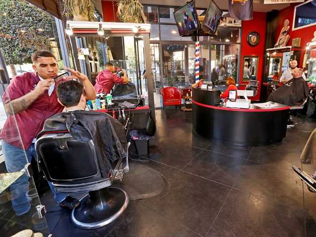 Barber shops, salons get OK to serve beer and wine