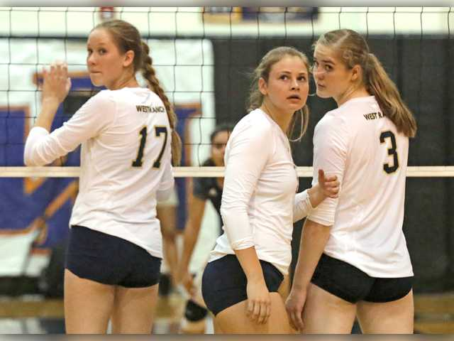 West Ranch volleyball riding the wave