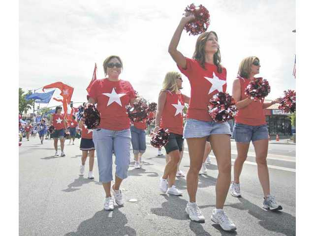 Members of the North Park congregation were out in large numbers for the 2008 Santa Clarita Fourth of July parade in Newhall.