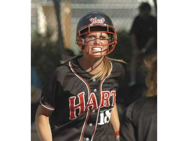 Hart catcher making name for herself