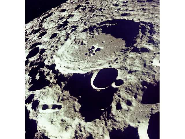 Crater 308 viewed from orbit.