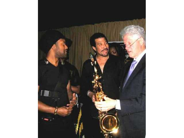 Clinton, Richie, Delano share Festival of Ideas