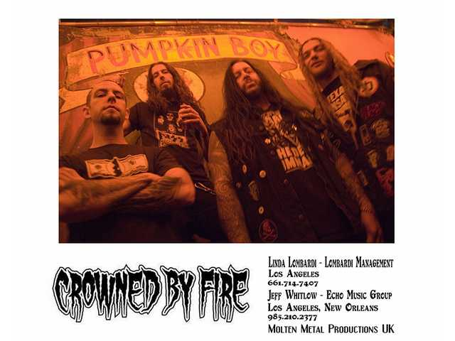 Crowned By Fire ignites L.A. with metal on Jan. 28
