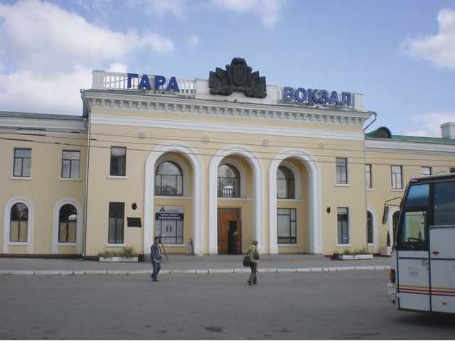In Tiraspol, the second largest city in Moldova, no trains come to the station.