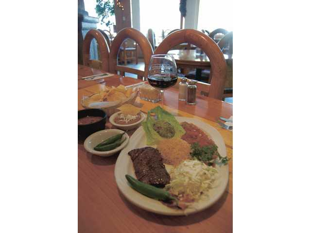 Flank steak, another specialty of El Trocadero, is just $17.25 and comes with soup or salad, refried or whole beans, tortillas and a choice of rice or baked potato.