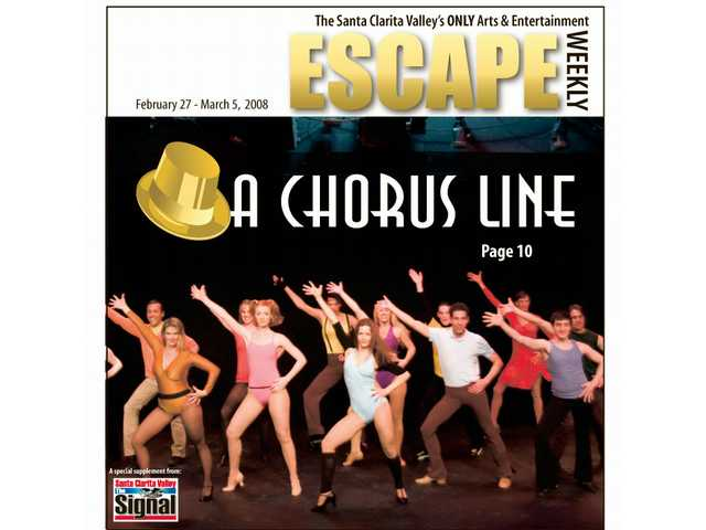 """A Chorus Line"" opens at the College of the Canyon Performing Arts Center"