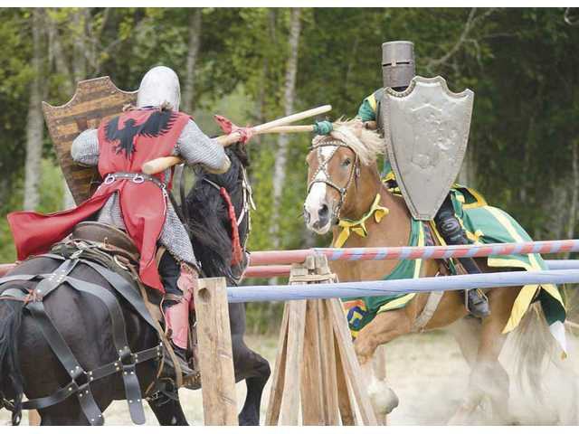 Jousting will be among the events offered Saturday at the American Jousting Alliance's Frazier Mountain Jousting Tournament held at Tait Ranch in Fraizer Park.