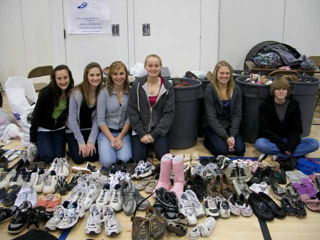 Hart District students have worked to donate more than $12,000 to relief efforts in Haiti, along with several shoe and jean drives.