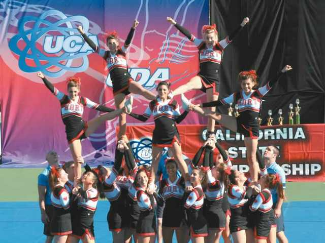 Hart Cheer Wins CIF State Championship