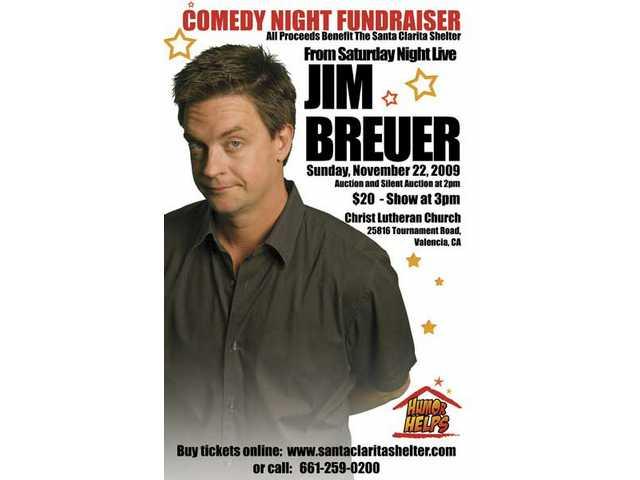 Comic Jim Breuer headlines the'Humor Helps' fundraiser for the Santa Clarita Emergency Winter Shelteron Sunday, Nov. 22.