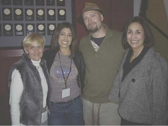 Reena Newhall, Danielle Jacobs, Ben Staley and Jeri Jacobs at the VIP night Jan. 8 to kick off the fourth annual Santa Clarita Valley Film Festival. The event was held at the Repertory East Playhouse on Main St. in downtown Newhall.