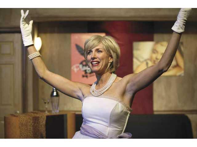 "Kristin Stone stars as Christine Jorgensen in ""Inside Private Lives."""