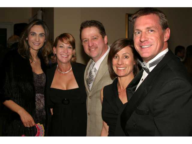 From left: Lisa Golshani, Joni and John Shaffery and Elise and Randy Kraus.