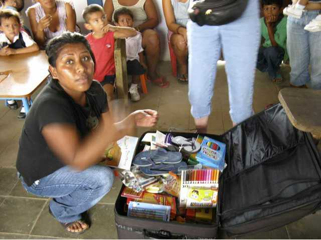 In 2008, Hart district students sent donated school supplies to Nicaragua which werehand-delivered to schools in La Boquita on the Pacific Coast, Mombacho School near Granada, and a school near Esteli in Nicaragua's northern highlands.